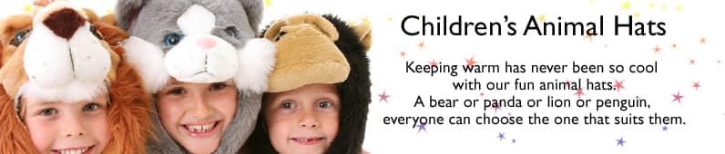Childrens Animal Hats