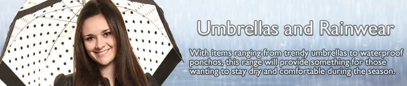 Umbrellas and Rainwear