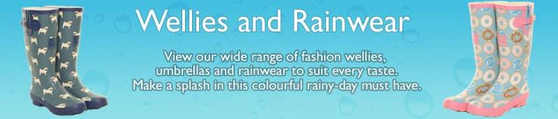 Wellington boots & umbrellas