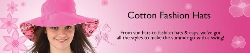 womens cotton sun hat