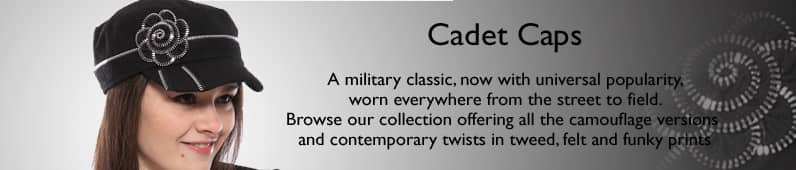 Womens Cadet Caps