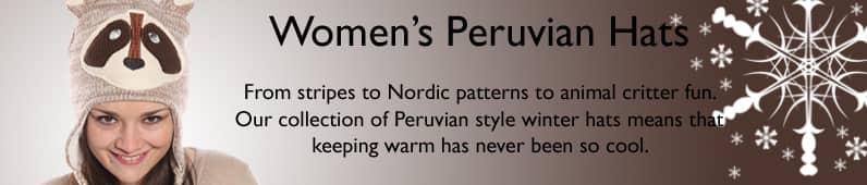 Ladies' Peru Hats