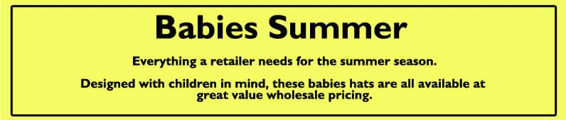 Babies Summer hats
