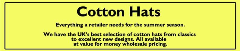 Cotton Hats