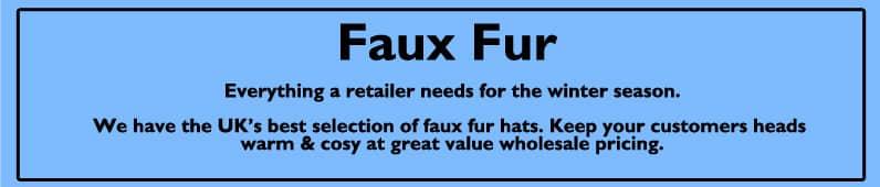 Womens Faux Fur Hats