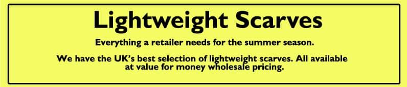 Lightweight Scarves