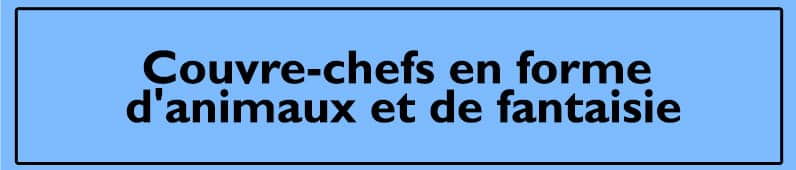 Courve-chefs a forme d'animaux