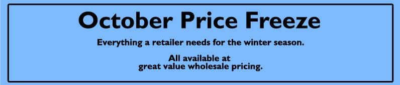 october price freeze