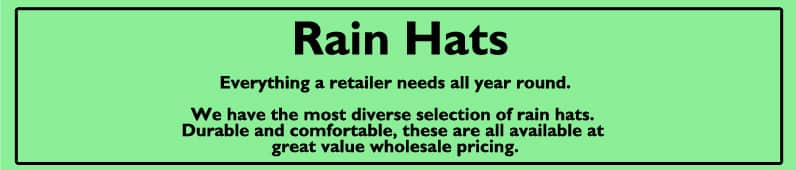 Showerproof Hats