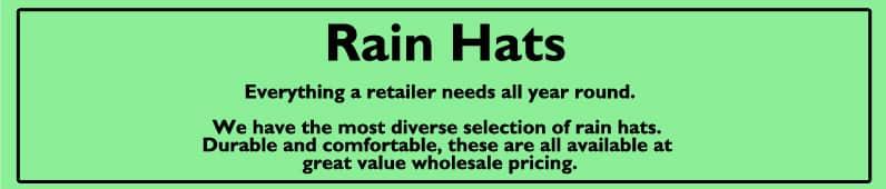 Mens Rain Hats