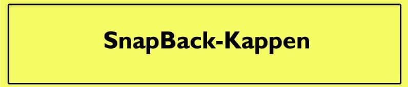 SnapBack-Kappen