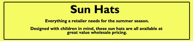 Childrens Sun Hats