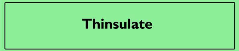thinsulate