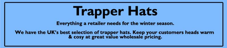 mens trapper hats
