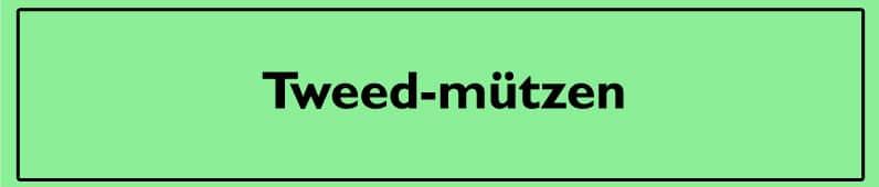 Tweed-Mützen