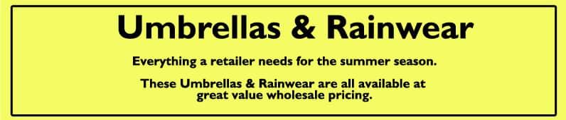umbrellas & rainwear summer