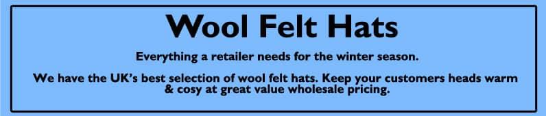 wool felt cloche hats