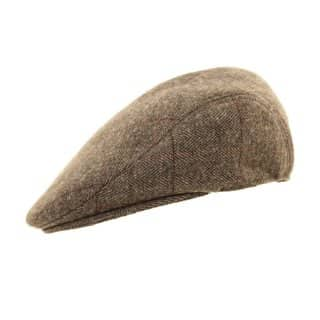 Light grey wholesale flat cap developed from wool