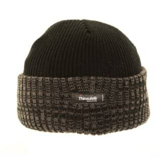 Wholesale Thinsulate hat in the colour black