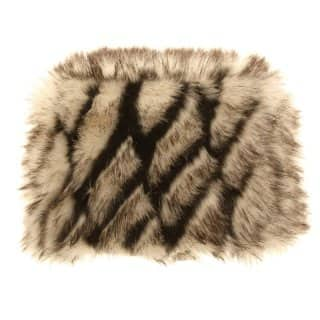 Wholesale faux fur cossack hat featuring fleece lining