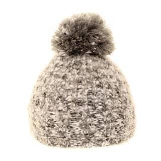 Wholesale ladies bobble hat in grey