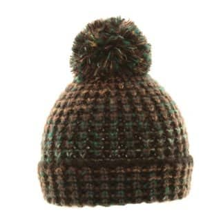 Wholesale bobble hat with 2-tone colour scheme