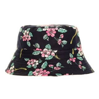 Wholesale ladies cotton floral sun hat