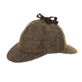Wholesale tweed deerstalker hat