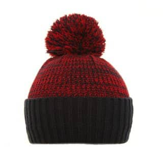 Wholesale Adults 2-tone bobble hat