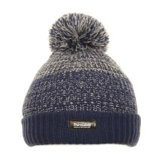 Wholesale thinsulate bobble hat with 2-tone colour scheme