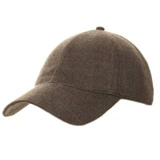 Wholesale baseball cap for men that is developed from polyester in grey