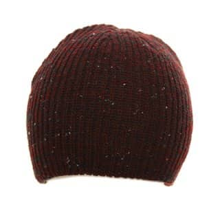 Wholesale fashionable ski hat in maroon