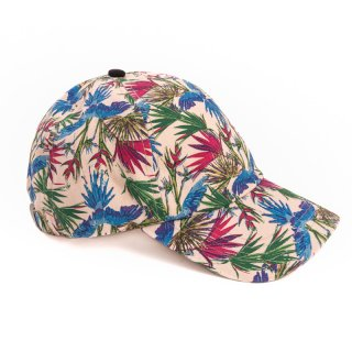 Wholesale baseball cap with tropical patterning