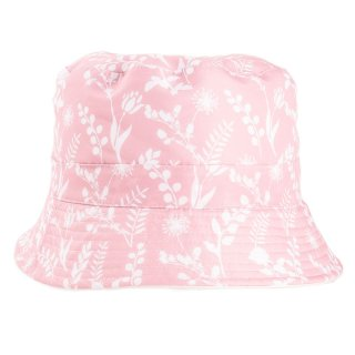 Bulk bush hats in pink floral print