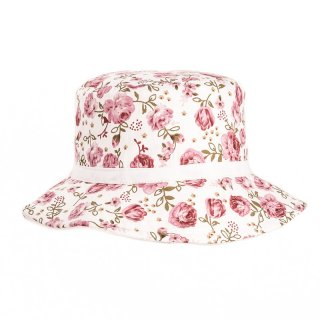 Wholesale rose print bush hat and wide brim