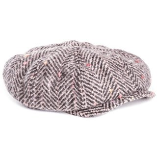 Wholesale mens 8-panel cap developed from thick wool