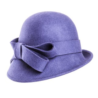 Wholesale cloche hat in navy colour scheme