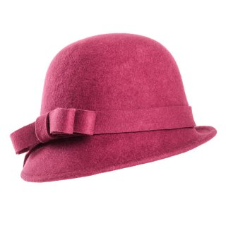 Wholesale cloche short brim hat in packs of six
