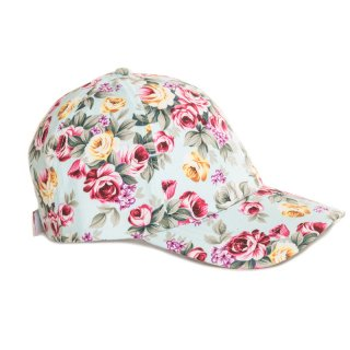 Bulk Baseball cap with floral patterning