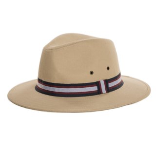 Bulk mens fedora hat with ribbon stripe band