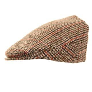 Bulk tweed country flat cap
