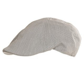 Wholesale Preformed flat cap for men in grey