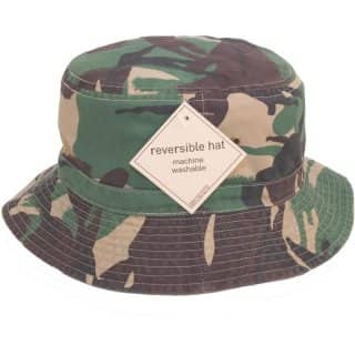 Wholesale green camouflage bush hat