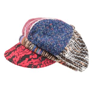 Wholesale ladies patterned bakerboy cap