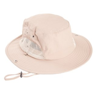 Nylon khaki mens aussie style hat developed from nylon