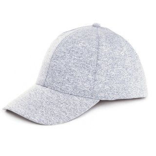 Wholesale light grey adults unisex sport baseball cap