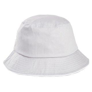 Adults unisex plain cotton bush hat in grey