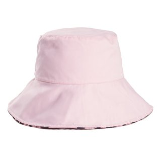 Wholesale ladies polyester white print sun hat