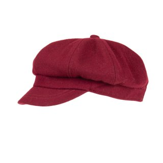 A1617- LADIES WOOL FELT BAKERBOY HAT