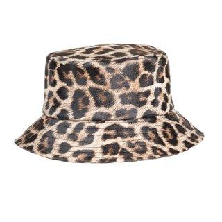 A1620- LADIES LEOPARD/SNAKE PRINT BUCKET HAT